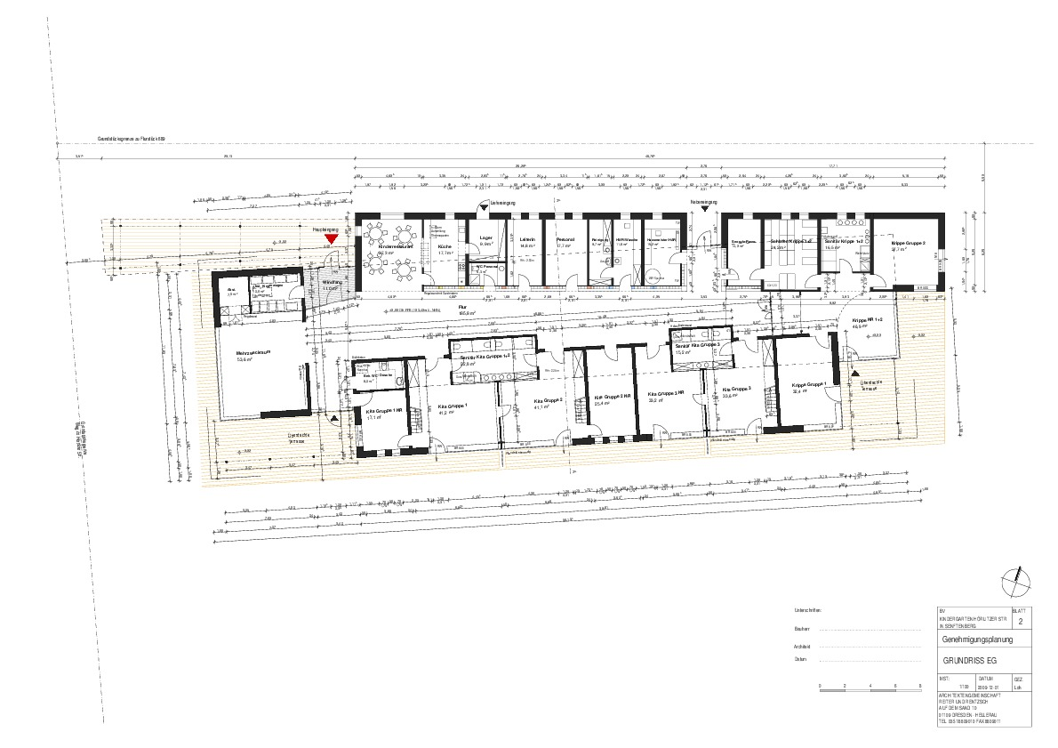 waldkindergarten senftenberg im passivhausstandard ais. Black Bedroom Furniture Sets. Home Design Ideas
