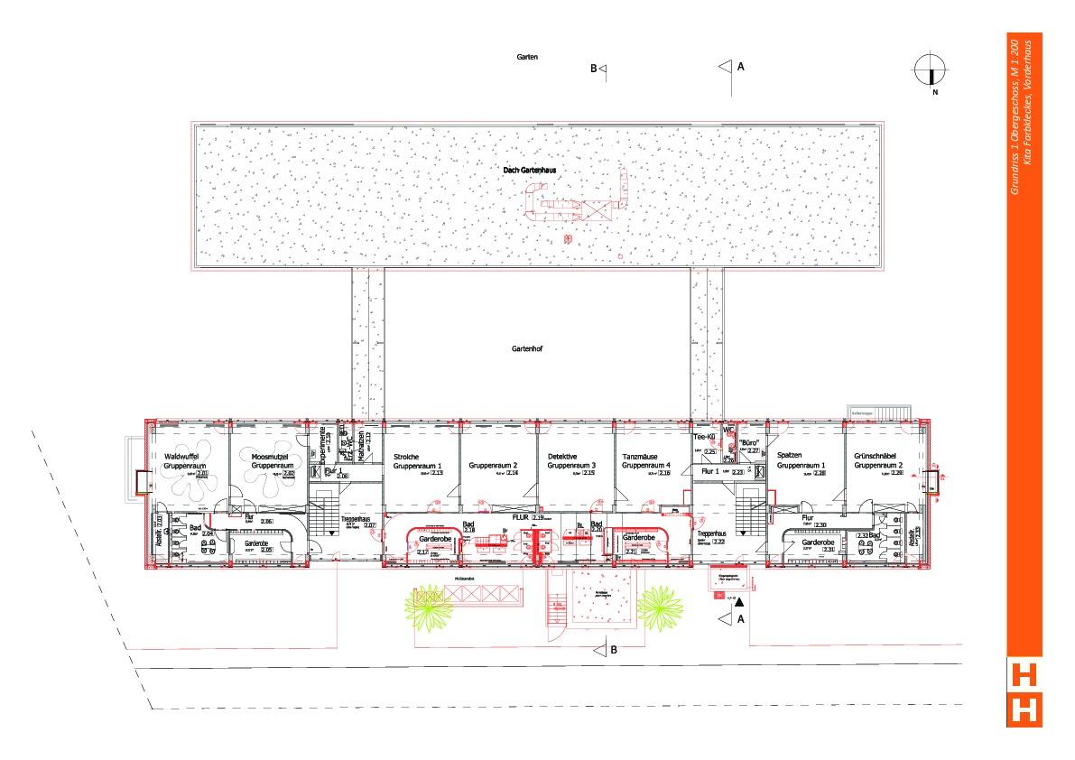 Energetische Sanierung Innenbereiche Kita Farbklecks Ais