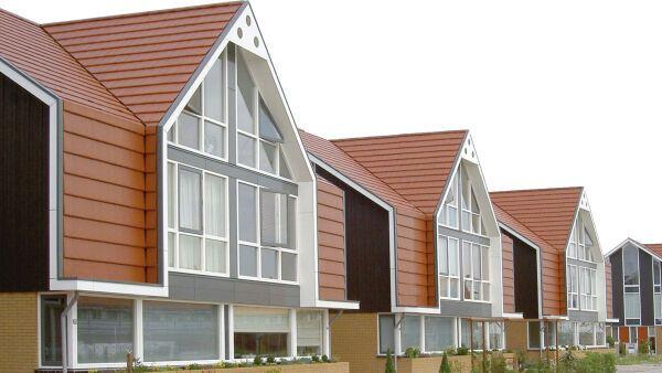 Dachsteine und Dachziegel